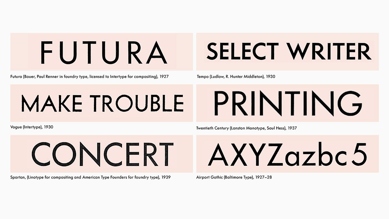How Futura Became The Most Ripped-Off Typeface In History